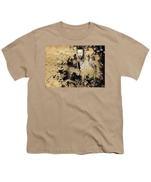 Eric Clapton 3 Youth T-Shirt by Bekim Art