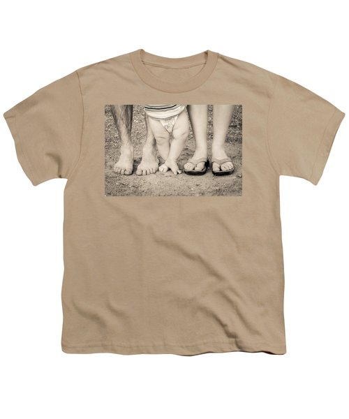 Family Feets Youth T-Shirt by Bill Pevlor