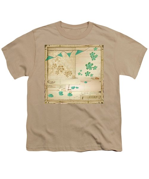 Flowers And Bunting Youth T-Shirt