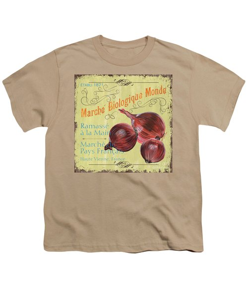 French Market Sign 4 Youth T-Shirt by Debbie DeWitt