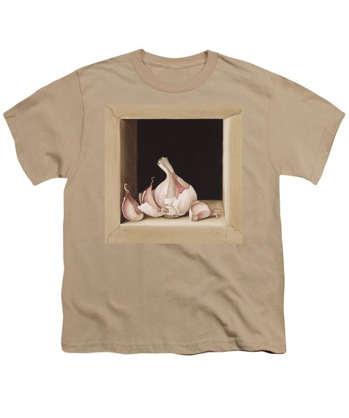 Garlic Youth T-Shirt by Jenny Barron