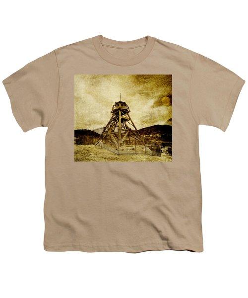 Helena-montana-fire Tower Youth T-Shirt