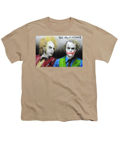 Hey, Why So Serious? Youth T-Shirt