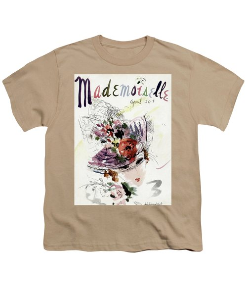 Mademoiselle Cover Featuring An Illustration Youth T-Shirt