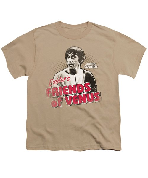 Mork And Mindy - Friends Of Venus Youth T-Shirt