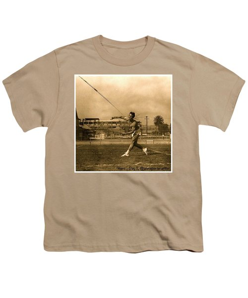 My #hero, George Porter, 1968 Youth T-Shirt