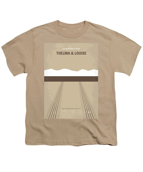No189 My Thelma And Louise Minimal Movie Poster Youth T-Shirt