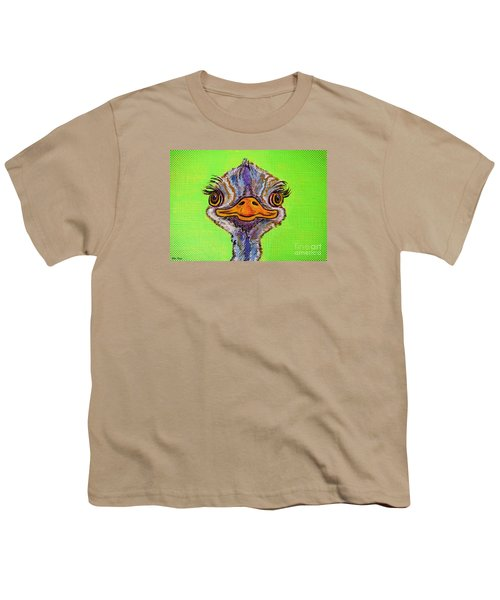 O For Ostrich Youth T-Shirt