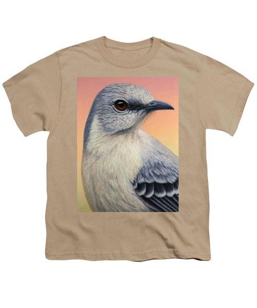 Portrait Of A Mockingbird Youth T-Shirt