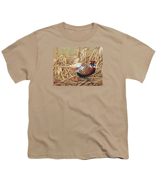 Ring-necked Pheasant Youth T-Shirt