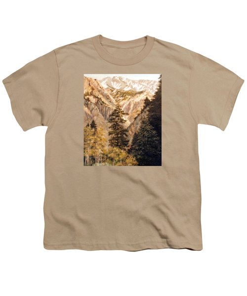 Shirley Temple Mine Youth T-Shirt by Donna Tucker