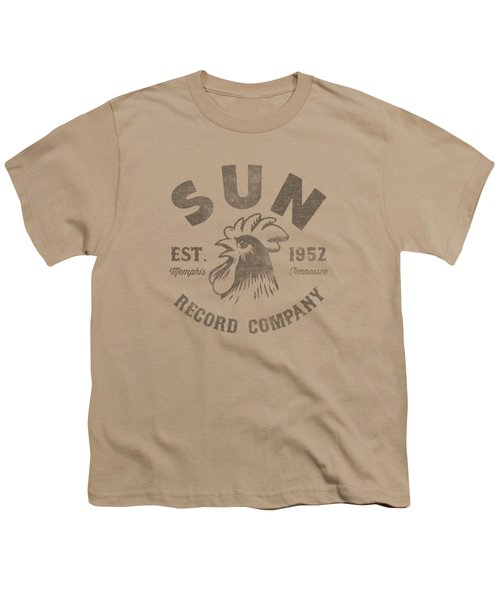 Sun - Vintage Logo Youth T-Shirt by Brand A