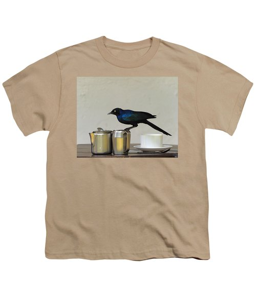 Tea Time In Kenya Youth T-Shirt by Tony Beck