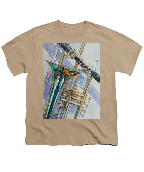 The Color Of Music Youth T-Shirt by Jenny Armitage