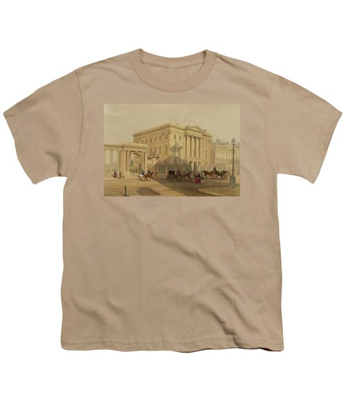 The Exterior Of Apsley House, 1853 Youth T-Shirt by English School