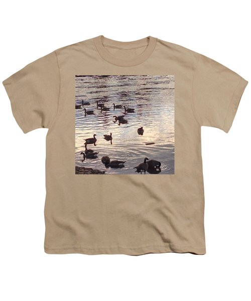 The Gathering - Willamette River Geese Youth T-Shirt