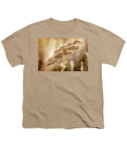 Youth T-Shirt featuring the photograph The Hot Gold Hush Of Noon by Linda Lees