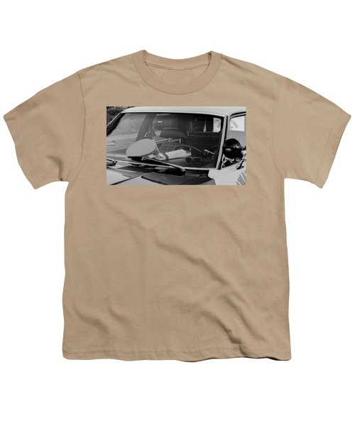 Youth T-Shirt featuring the photograph The Office On Wheels by Jim Thompson
