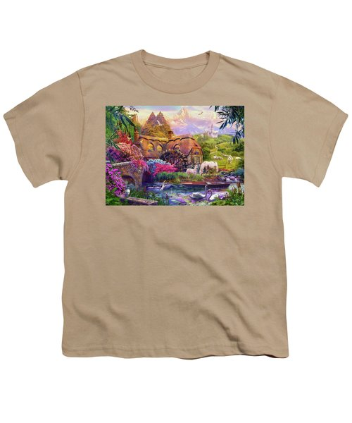 Youth T-Shirt featuring the photograph Light Palace by Jan Patrik Krasny