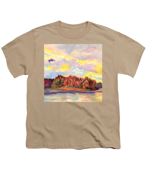 View Of Goat Island Youth T-Shirt