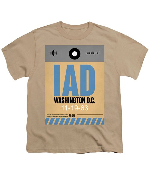 Washington D.c. Airport Poster 3 Youth T-Shirt