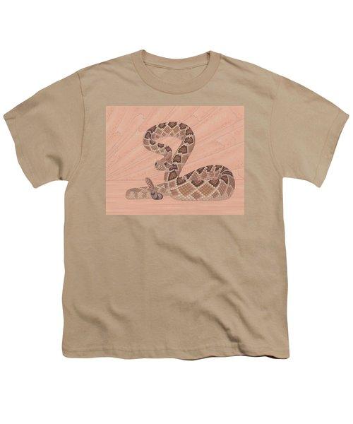 Western Diamondback Rattlesnake Youth T-Shirt