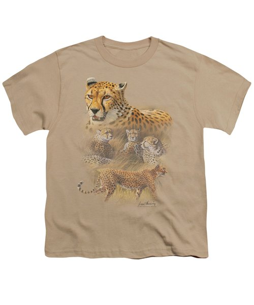Wildlife - Cheetahs Youth T-Shirt