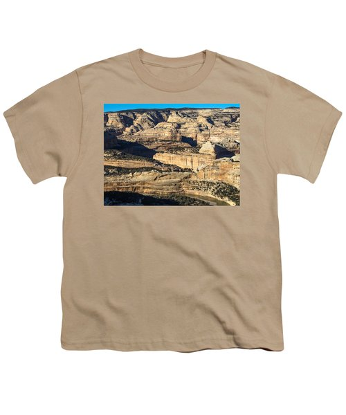 Yampa River Canyon In Dinosaur National Monument Youth T-Shirt