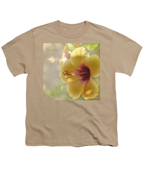 Yellow Hibiscus Youth T-Shirt