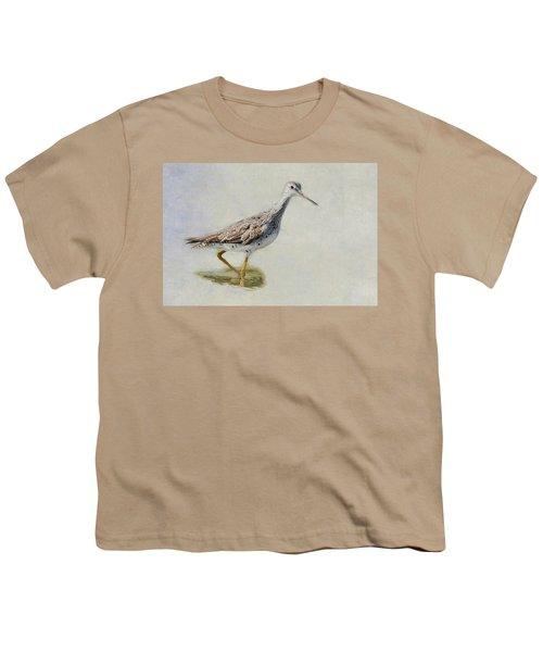 Yellowlegs Youth T-Shirt by Bill Wakeley