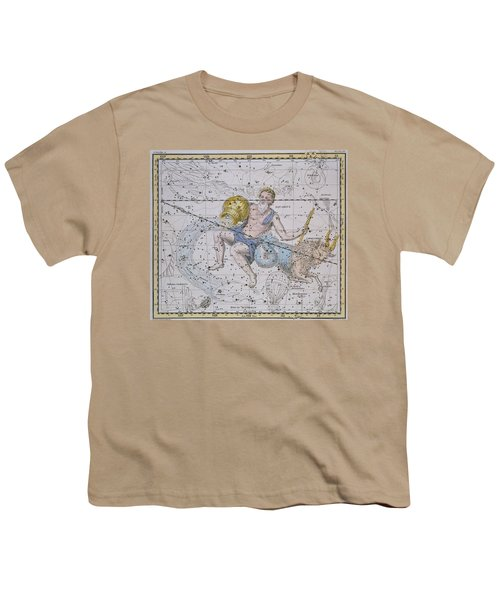 Aquarius And Capricorn Youth T-Shirt by A Jamieson