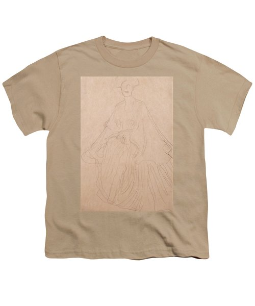 Adele Bloch Bauer Youth T-Shirt by Gustav Klimt