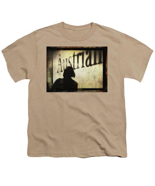 Austrian Silhouette Youth T-Shirt by Siegfried Ferlin