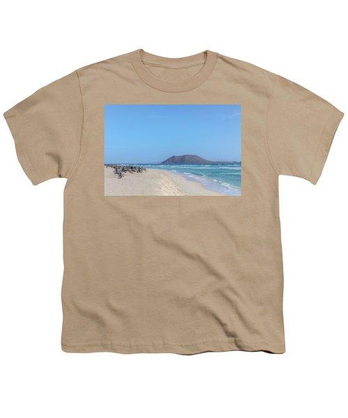 Corralejo - Fuerteventura Youth T-Shirt by Joana Kruse