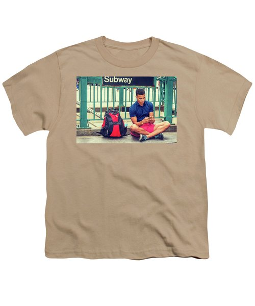 New York Subway Station Youth T-Shirt