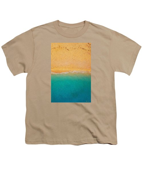 Not Quite Rothko - Surf And Sand Youth T-Shirt by Serge Averbukh
