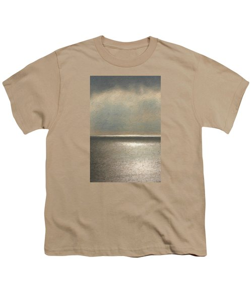 Not Quite Rothko - Twilight Silver Youth T-Shirt by Serge Averbukh