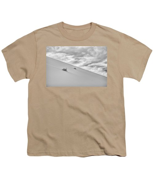 Youth T-Shirt featuring the photograph Sand And Clouds by Hitendra SINKAR
