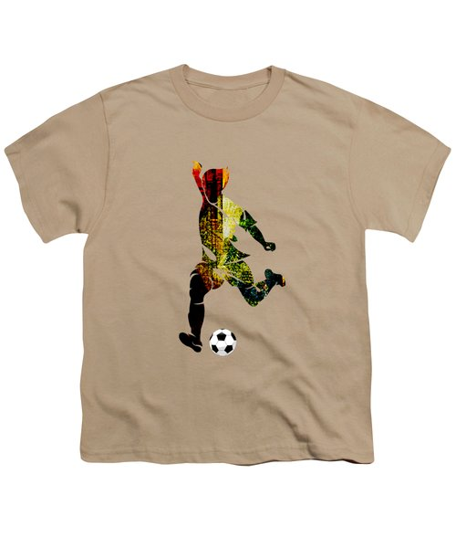 Soccer Collection Youth T-Shirt by Marvin Blaine