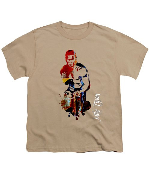 Mike Tyson Collection Youth T-Shirt by Marvin Blaine