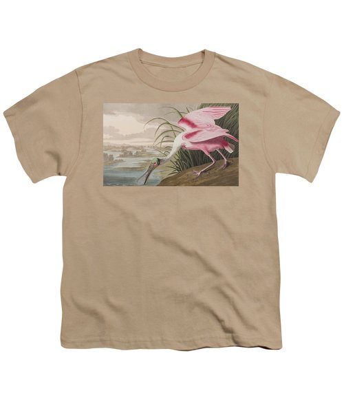 Roseate Spoonbill Youth T-Shirt