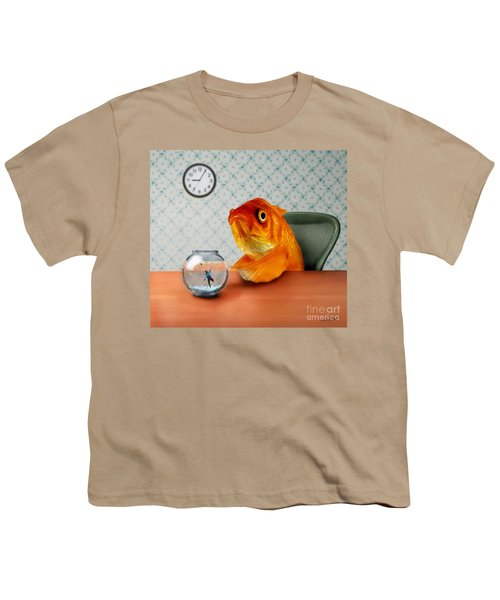 A Fish Out Of Water Youth T-Shirt by Carrie Jackson