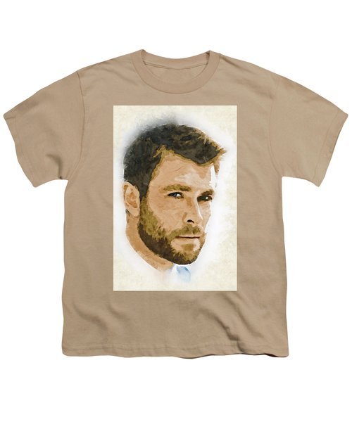 A Tribute To Chris Hemsworth Youth T-Shirt