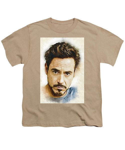 A Tribute To Robert Downey Jr. Youth T-Shirt