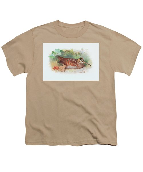 A Woodcock Resting Youth T-Shirt