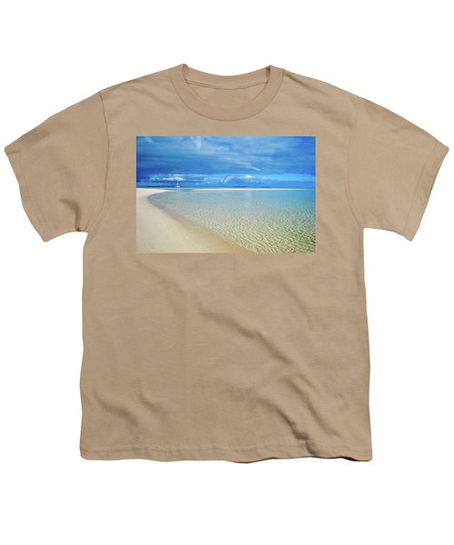 Adagio Alone In Ouvea, South Pacific Youth T-Shirt