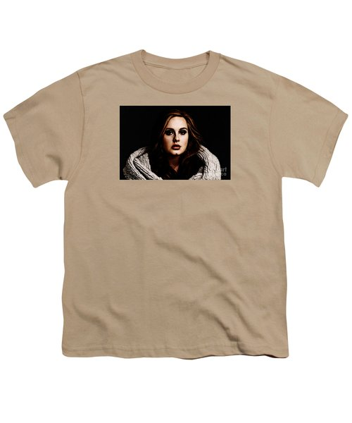 Adele Youth T-Shirt by The DigArtisT