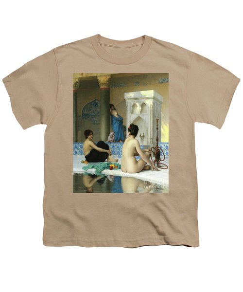 After The Bath, Jean Leon Gerome Youth T-Shirt