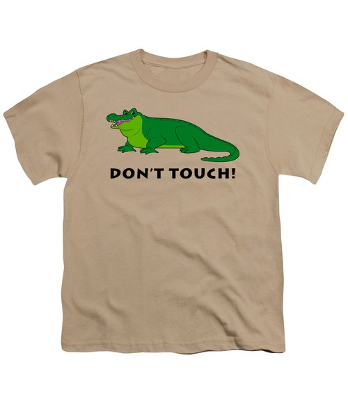Alligator Don't Touch Youth T-Shirt by A