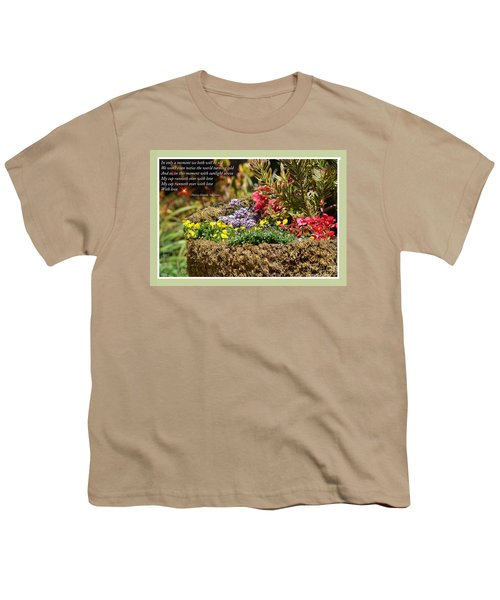 And So In This Moment With Sunlight Above II Youth T-Shirt by Jim Fitzpatrick